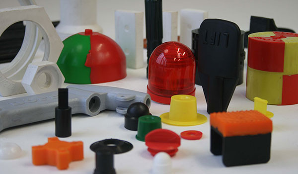 Industrial plastic molded parts on demand