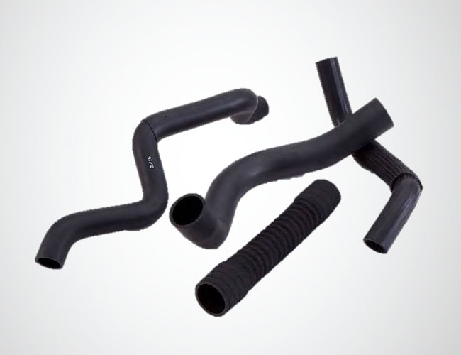 Organic rubber hoses