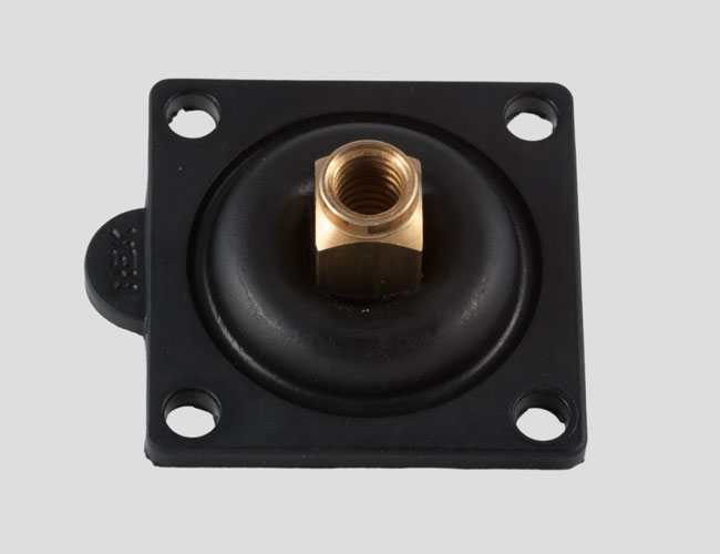 Rubber metal valves